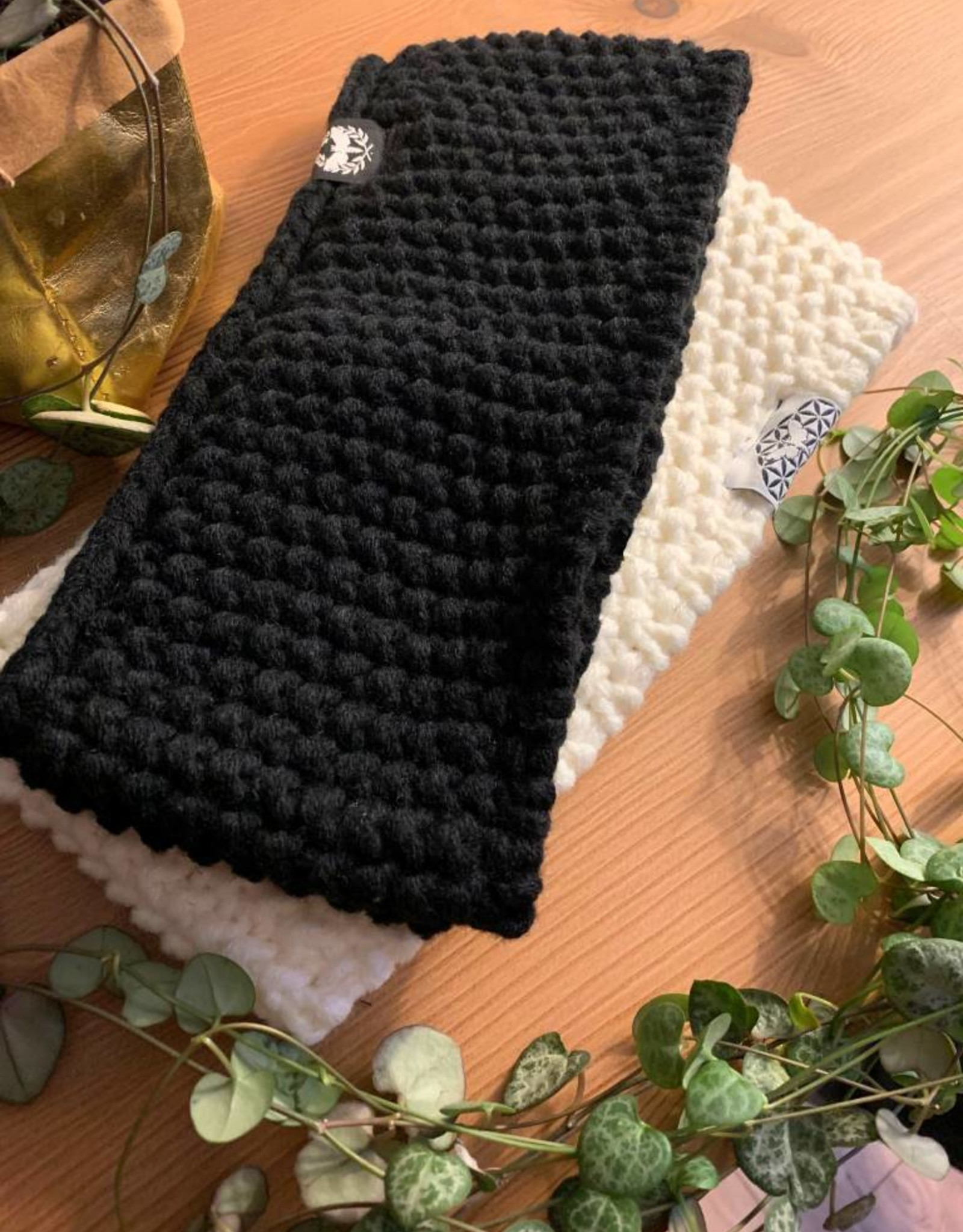 Motte Stirnband- black