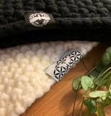Motte Stirnband- white