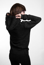 Knit- Hoody -anthracite