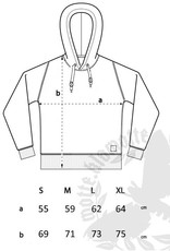 Strick- Hoodie - grau