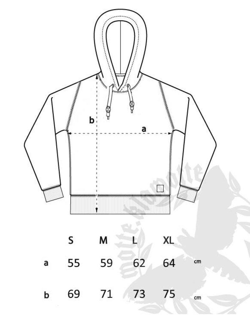 Unisex Strick- Hoodie - grau