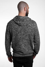 Strick- Hoody - grey