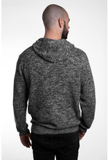 Unisex Strick- Hoody - grey