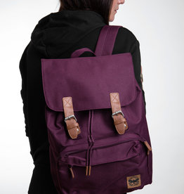 Motte Laptop Rucksack - burgundy