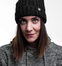 Motte Beanie black-dotted