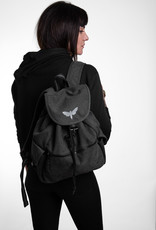 Motten Vintage  Backpack -schwarz