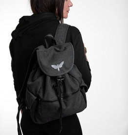 Motten Vintage  Backpack -black