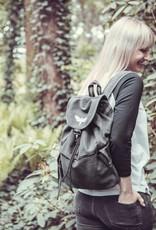 Motten Vintage  Backpack -black