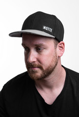 Motten Baseball Cap black /grey