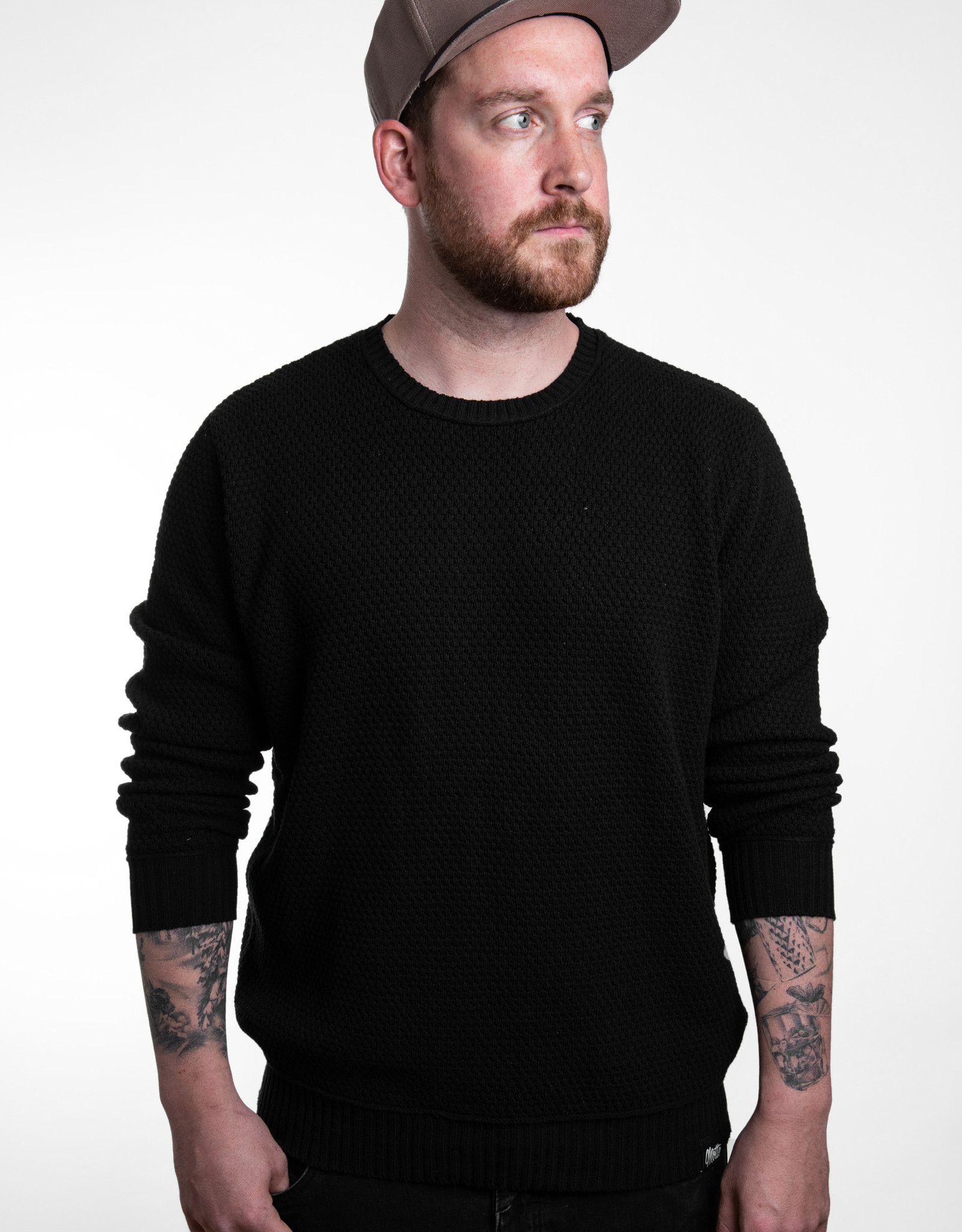 Strick Sweater -bold -black