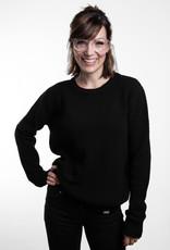 Strick Sweater -grob -schwarz