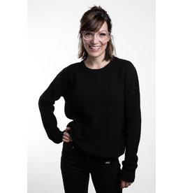 Unisex Strick Sweater -bold -black