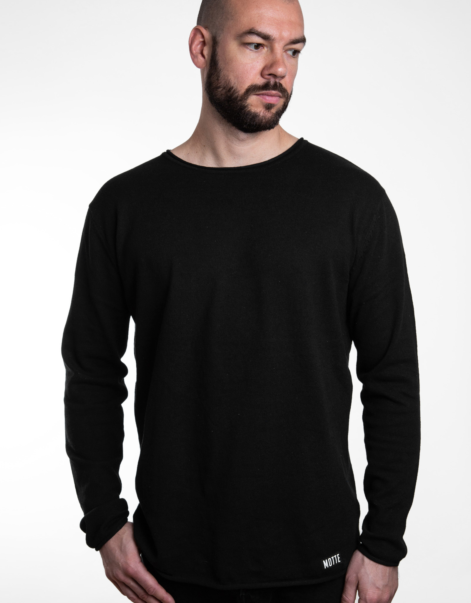 Unisex Strick Sweater -light -black