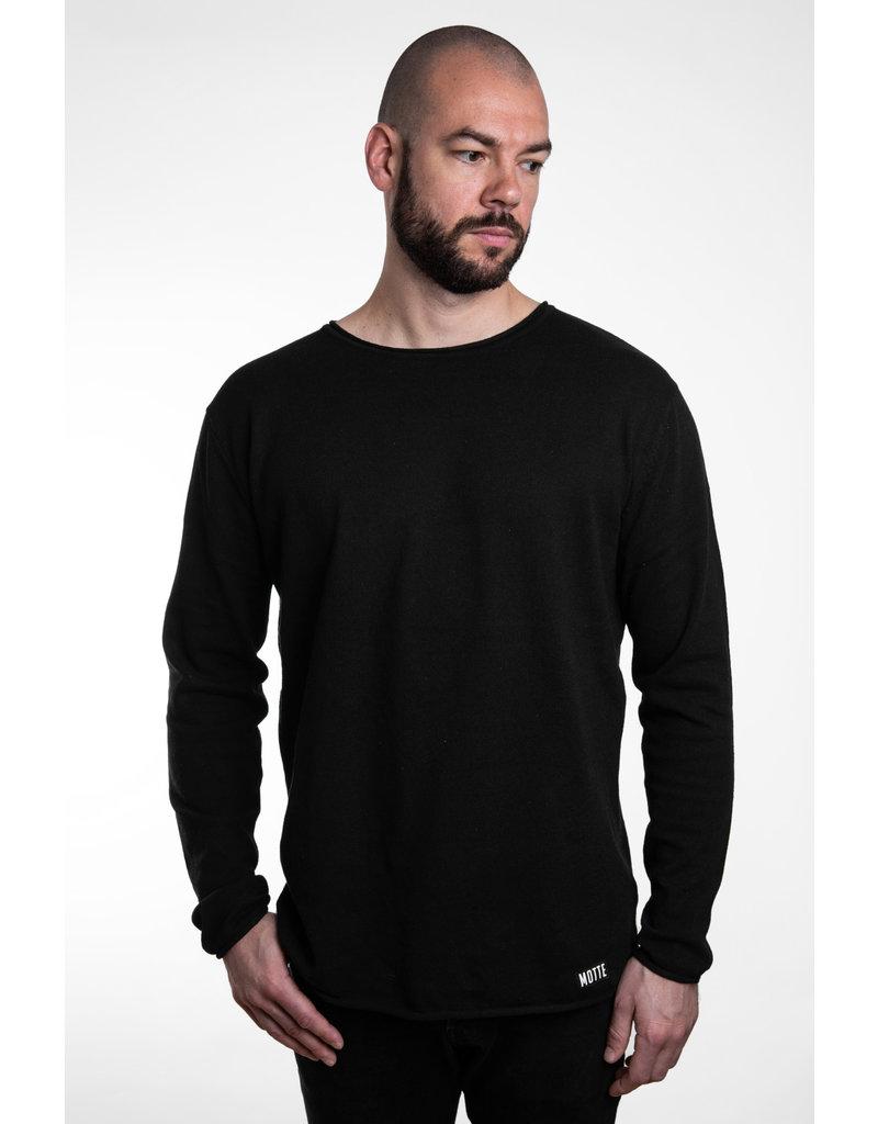 Unisex Strick Sweater -light -black