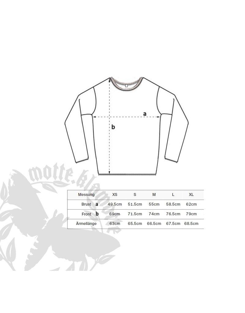 Unisex Strick Sweater -fein -schwarz