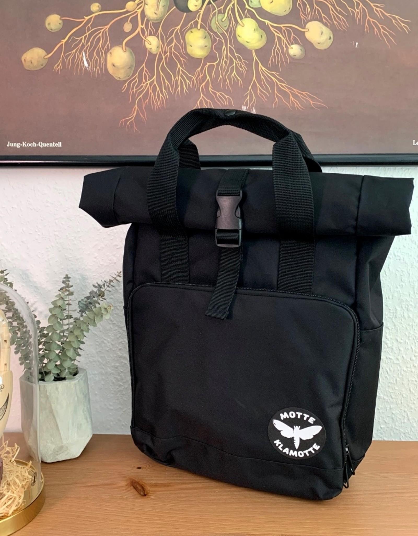 Urban Daypack Roll-Top -schwarz