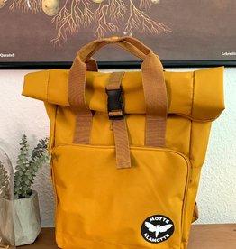 Urban Daypack Roll-Top -senf