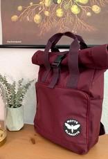Urban Daypack Roll-Top -burgunder