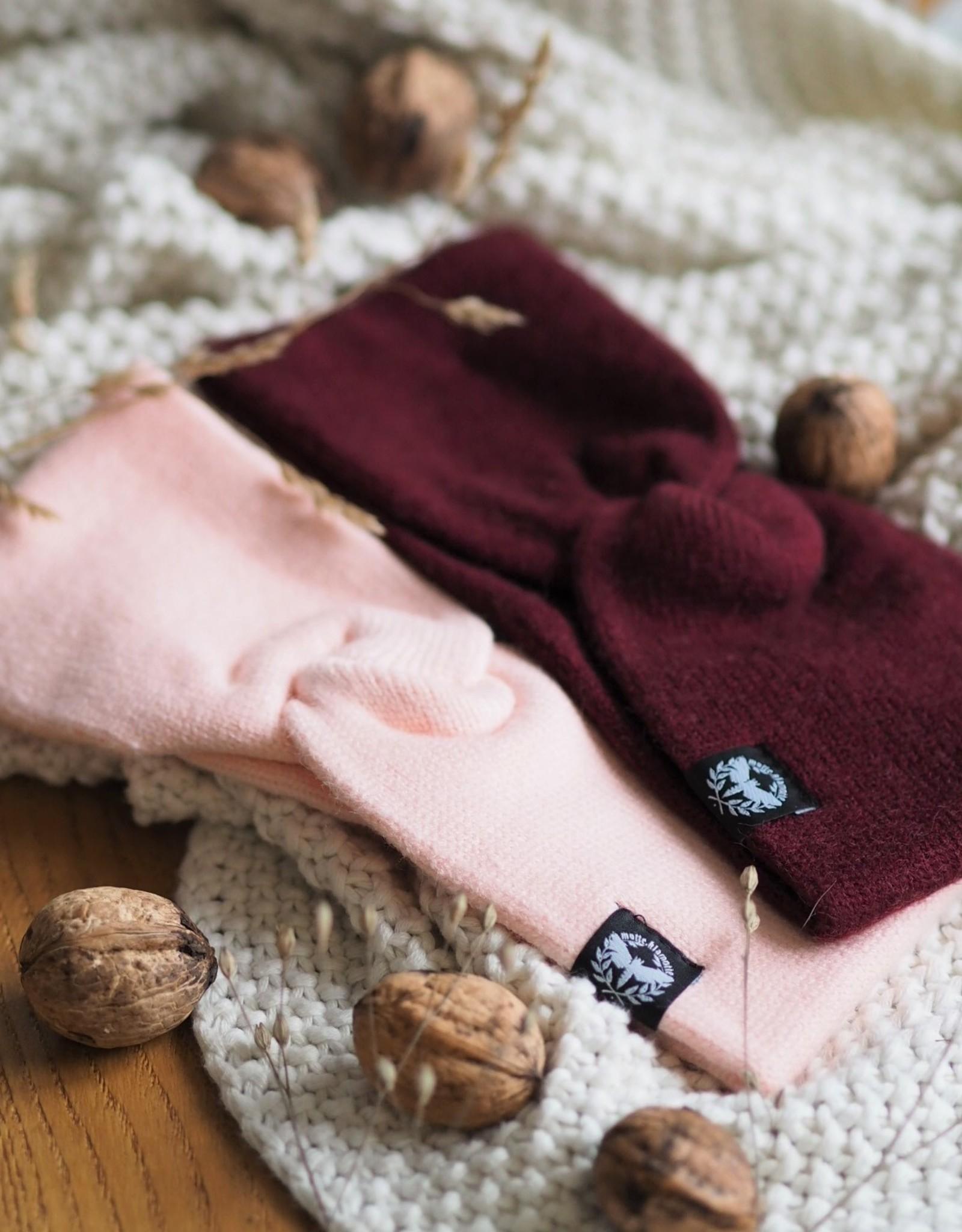 Motte headband bordeaux