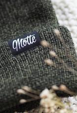 Motten Beanie - olive mottled