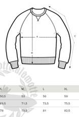 Motte Basic Sweatshirt grau