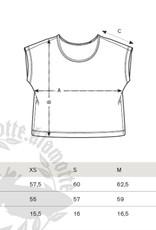Ginkgo Oversize Shirt grau