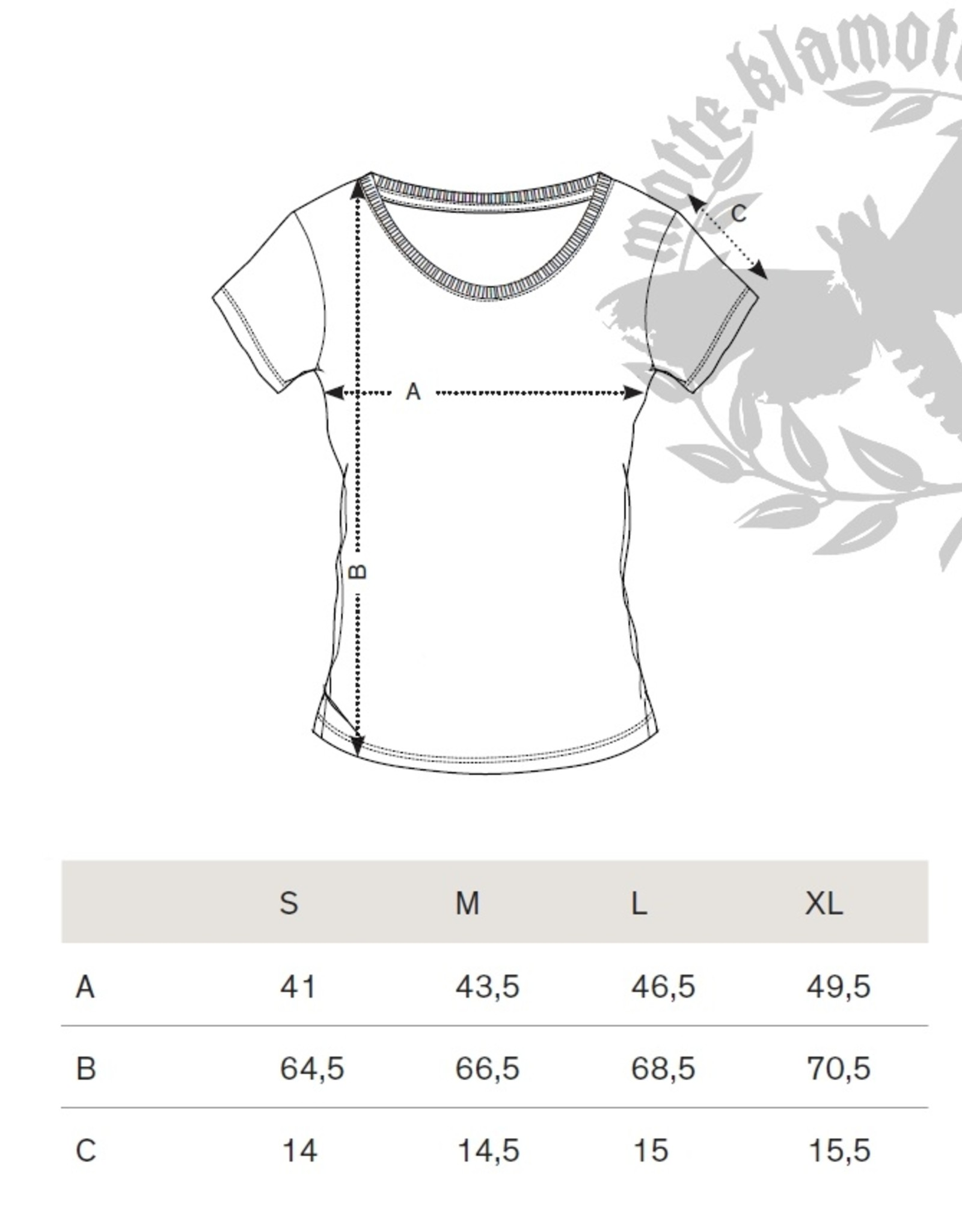 Motte embroidery shirt -waisted burgundy