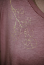 Ginkgo Oversize Shirt dusty pink
