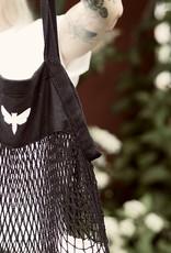 Motte Netzbeutel -black