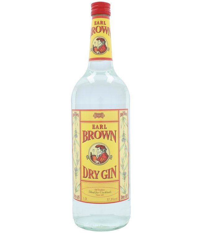 Earl Brown Dry Gin 1,00 ltr