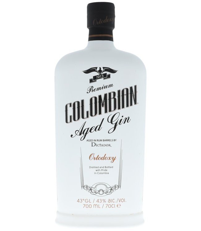 Dictador Colombian Aged Gin - Ortodoxy