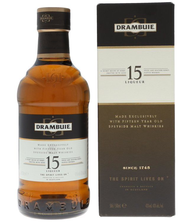 Drambuie 15 Years 0,50 ltr