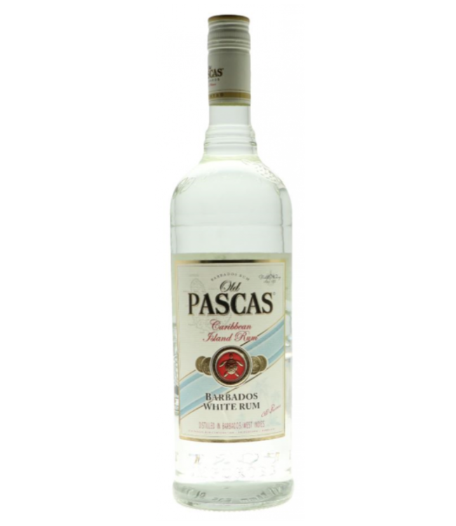 Old Pascas Rum White 1,00 ltr