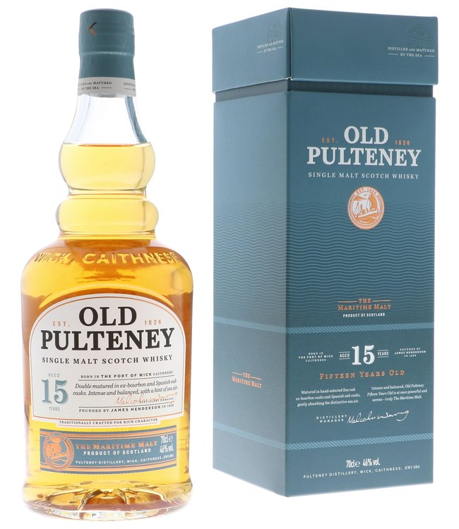 Old Pulteney 15 Years