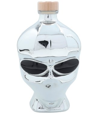 Outerspace Outerspace Alien Head Chrome Edition