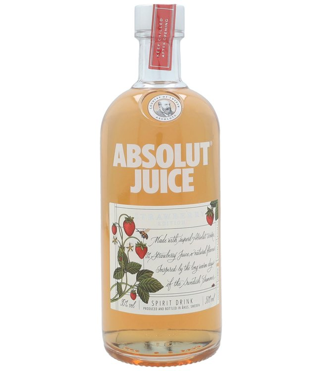 Absolut Strawberry Juice 0,50 ltr