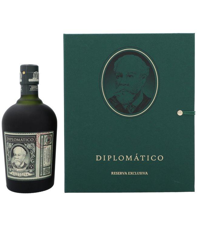 Diplomatica Reserva Exclusiva Giftset + Coasters 0,70 ltr