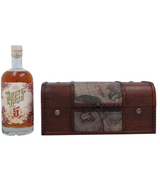 Pirate's Grog Pirate's Grog 5 Years Golden Rum - Personalised Gift Chest 0,70 ltr