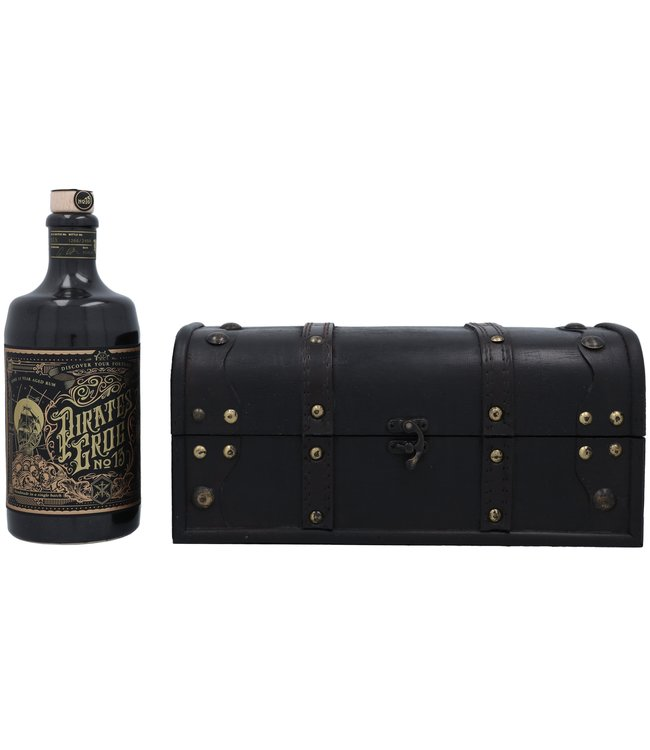 Pirate's Grog No.13 - Personalised Gift Chest 0,70 ltr