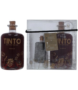 Tinto Red Tinto Red Premium Gin + Glass 0,70 ltr