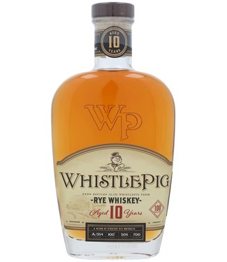 Whistle Pig Whistle Pig 10 Years Straight Rye 0,70 ltr