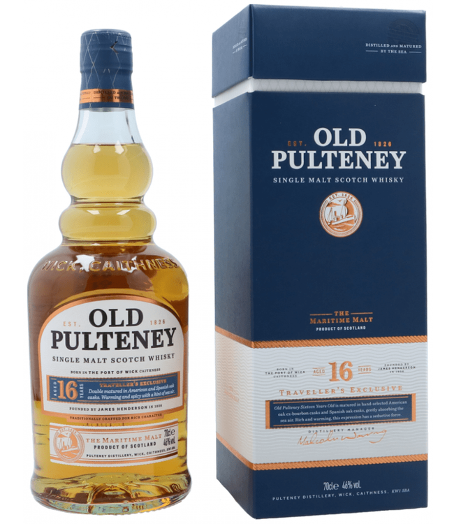 Old Pulteney 16 Years 0,70 ltr