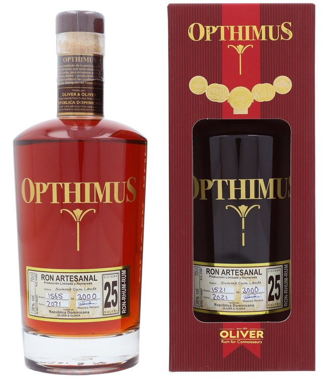 Opthimus 25 Years 0,70 ltr 38%