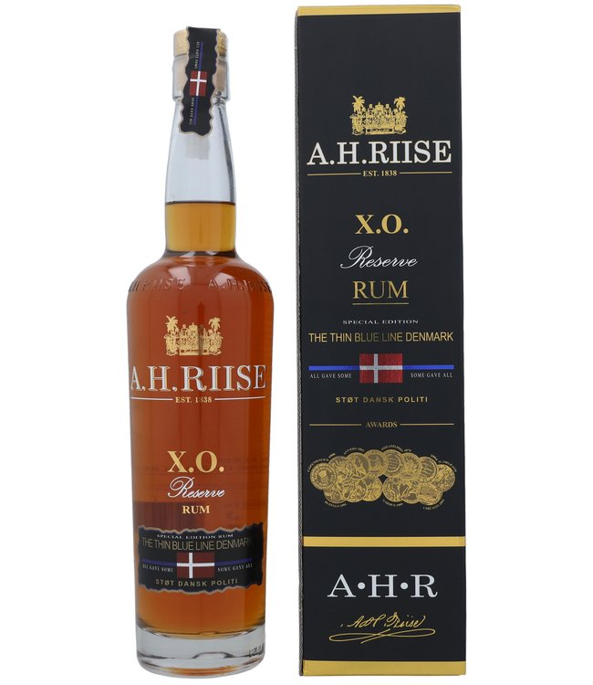 A.H. Riise XO Reserve the Thin Blue Line 0,70 ltr 40%