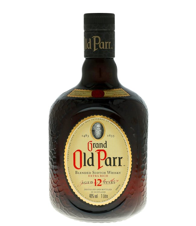 Grand Old Parr 12 Years 1,00 ltr 40%