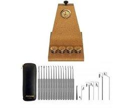 Lockpicking-Set 22-teilig von SouthOrd + Übungsboard + KOSTENLOSES Handbuch
