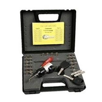 Lockpick Decoder-Set für VAG Group (Audi, VW und Porsche)