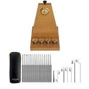Lockpick set 22-delig van Southord + Lockpick Oefenbord + GRATIS boekje