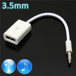 JS Aux naar USB-kabel