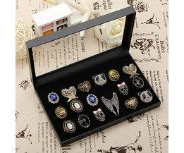 Ringendoosje voor 36 Ringen